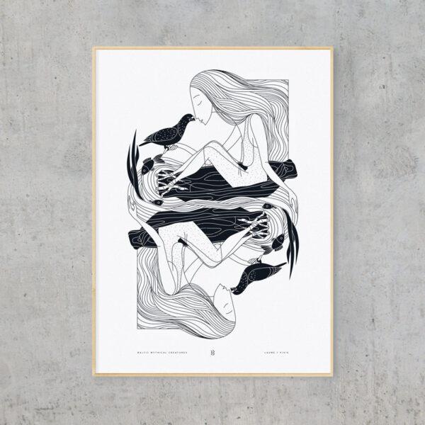 baltic mythical creatures - pixie / laumė