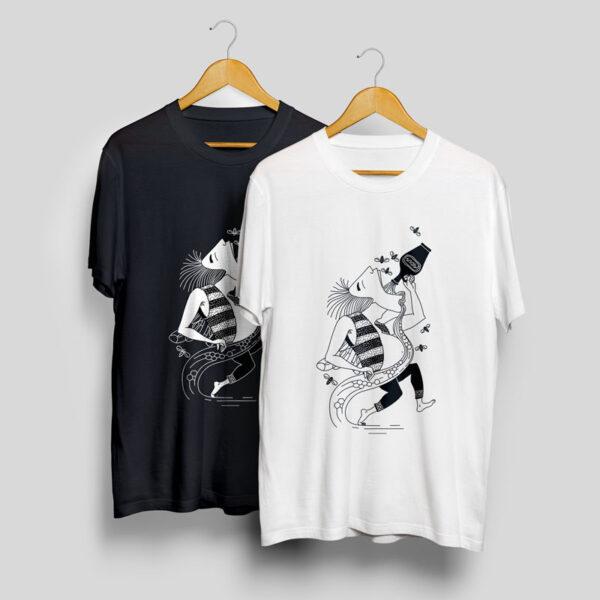 baltic mythical creatures - bubilos / bubilas t-shirt