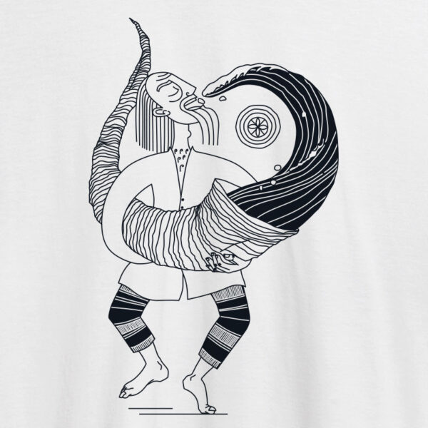 baltic mythical creatures - horn / ragutis t-shirt