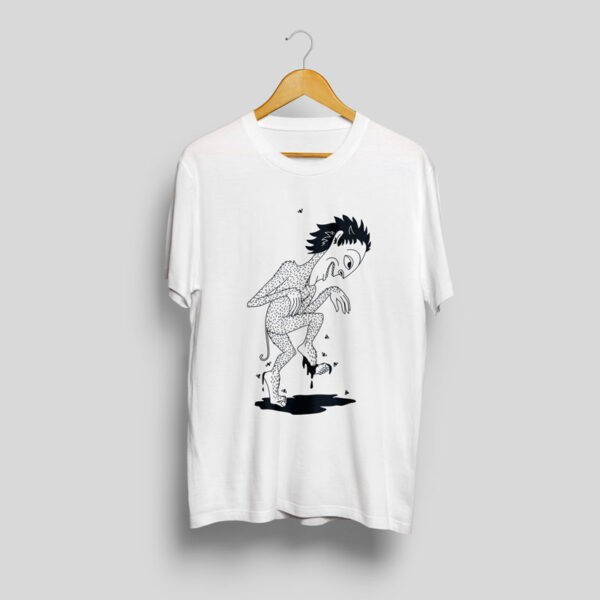 baltic mythical creatures - imp / pinčiukas t-shirt