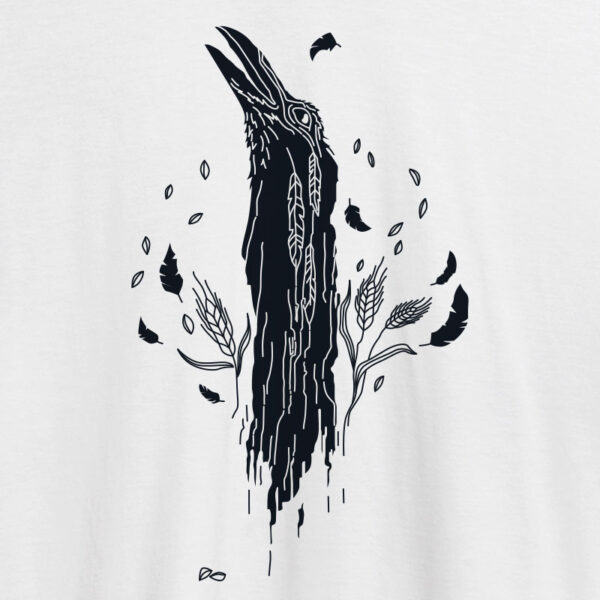 baltic mythical creatures - raven / juodvarnis t-shirt