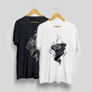 baltic mythical creatures - whirlwind / viesulas t-shirt