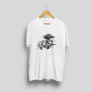 baltic mythical creatures - woodspirit / kaukas t-shirt