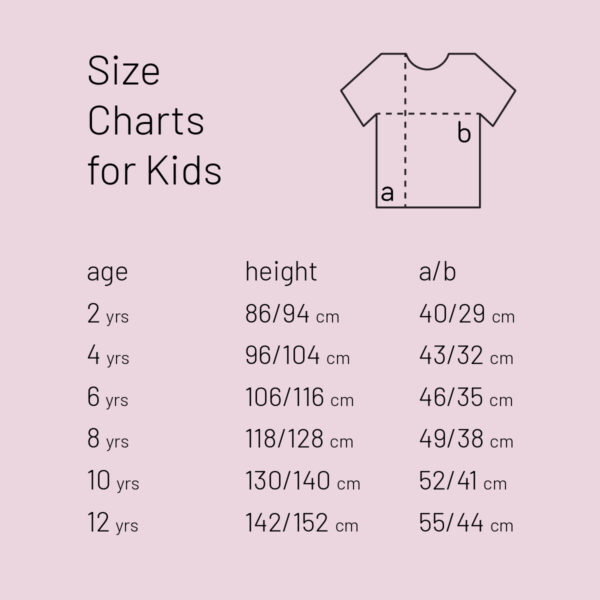 size chart for kids