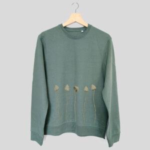 liberty cap mushroom sweater